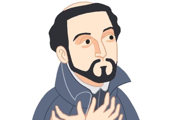 illustration of Francis Xavier